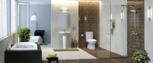 Phòng tắm thiết bị vệ sinh INAX đẹp nhất