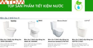 thiết bị vệ sinh bồn cầu INAX ECO