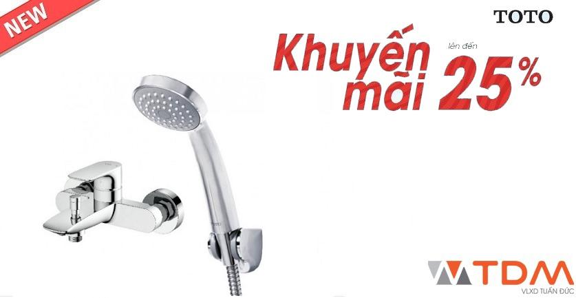 Vòi sen tắm nóng lạnh TOTO tại Nam Định