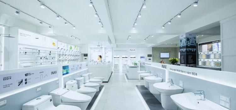 Cửa hàng đại lý bồn cầu Inax Tuấn Đức tại Gò Vấp chính hãng